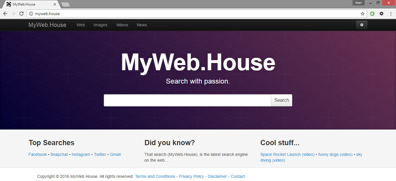 MyWeb.House Virus