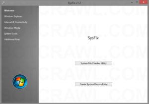 SysFix Utility