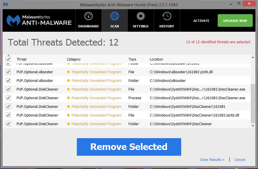 xBooster malwarebytes
