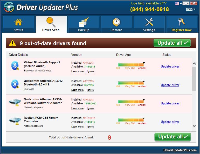 driver updater plus crack