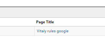 Vitaly rules google