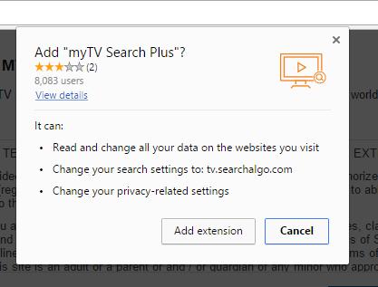tv.searchalgo.com extension