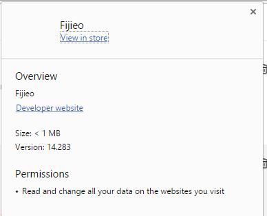 Fijieo permissions