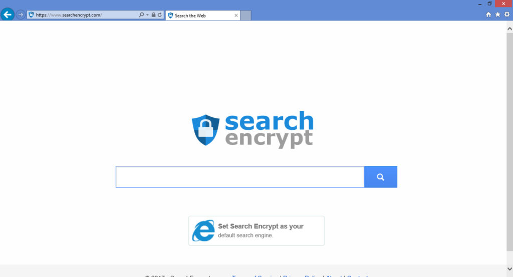 how to remove search encrypt