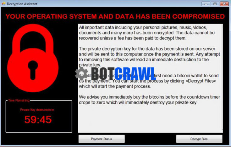 How to remove Decryption Assistant (Ransomware Removal) - Botcrawl