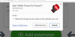 MMA Pound for Pound extension