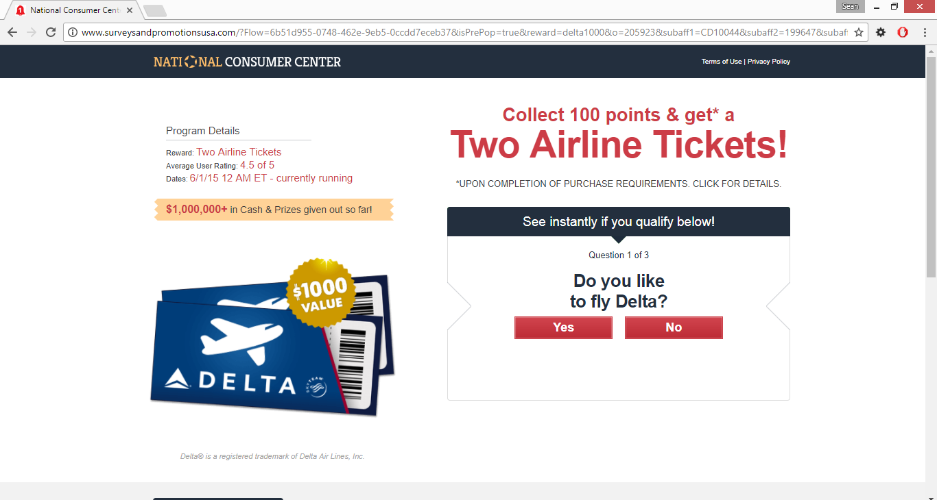 Delta Airline is giving 2 free Tickets