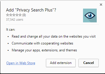 Privacy Search Plus extension