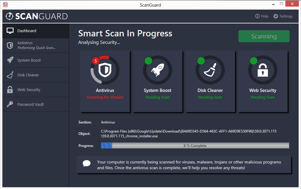 free scanguard scan