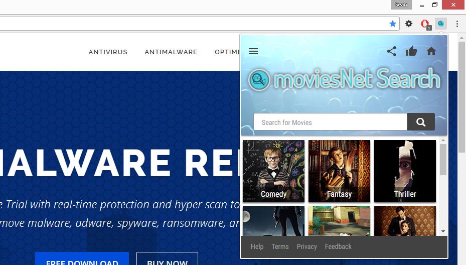 moviesNet Search