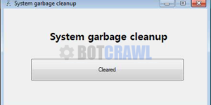 System Garbage Cleanup