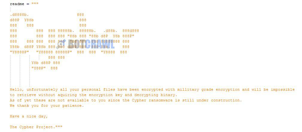 Cypher virus