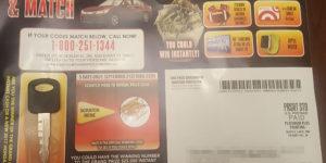 scratch and match scam