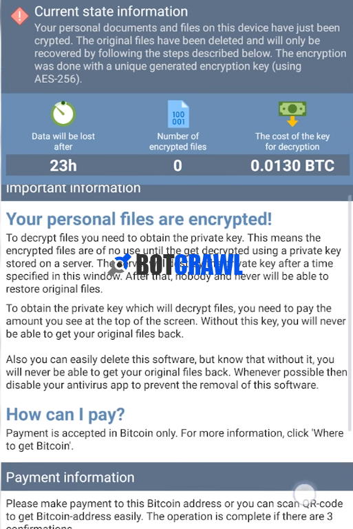How to remove CryEye virus from Android (Ransomware) - Botcrawl