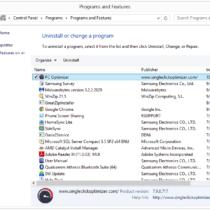 uninstall PC Optimizer