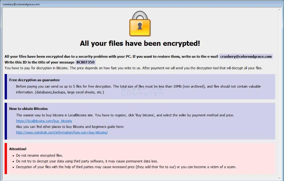 How to remove java ransomware (Virus Removal) - Botcrawl