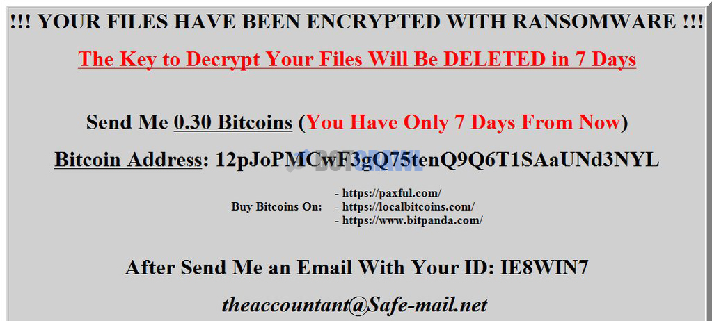 How to remove ransom virus ransomware removal botcrawl once the ransom virus has encrypted files and added a new extension it will show the ransom note in attempt to acquire a ransom from the victim ccuart Choice Image