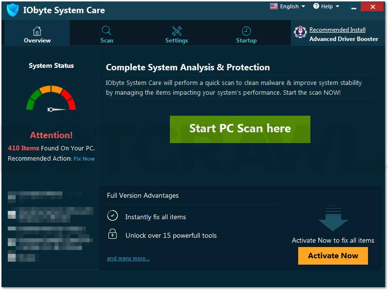 IObyte System Care