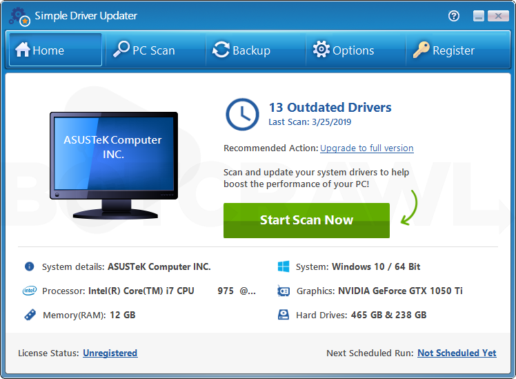 Simple Driver Updater
