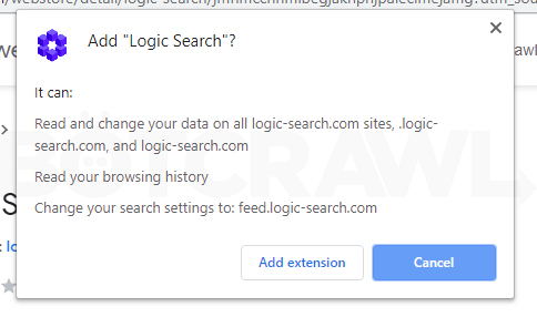 logic search extension