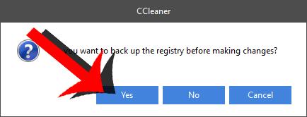 back up registry ccleaner