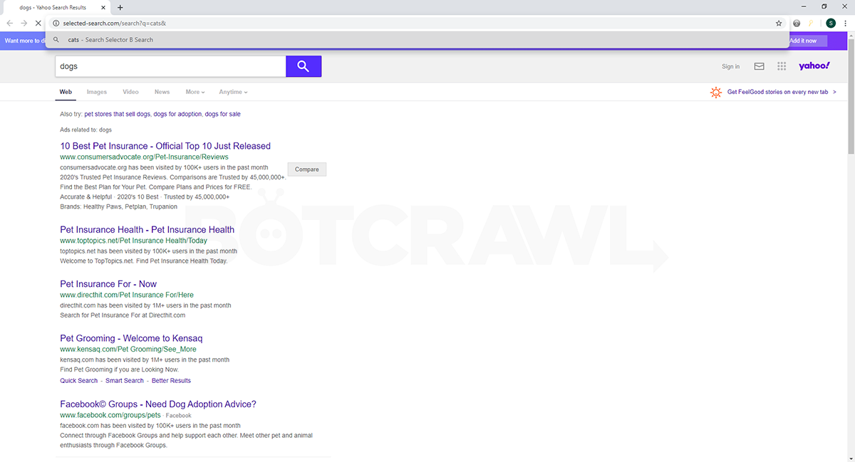 selected-search.com virus